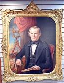 John F. Francis Oil/Canvas, Portrait of Gentleman