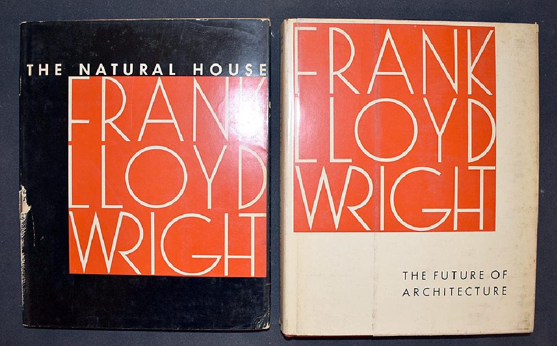 Two Books by Frank Lloyd Wright