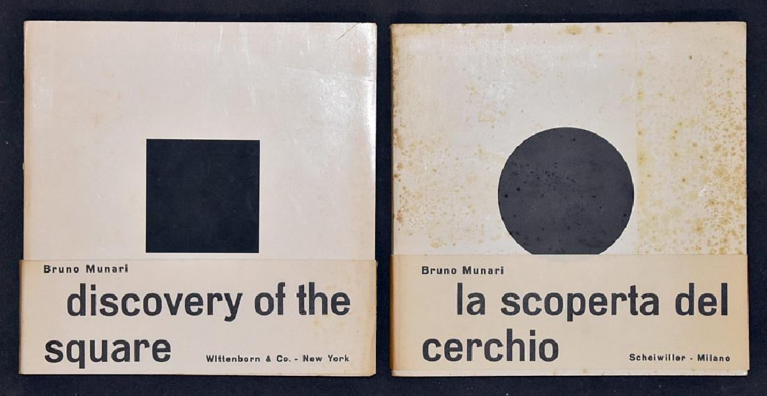 Two Bruno Munari Books