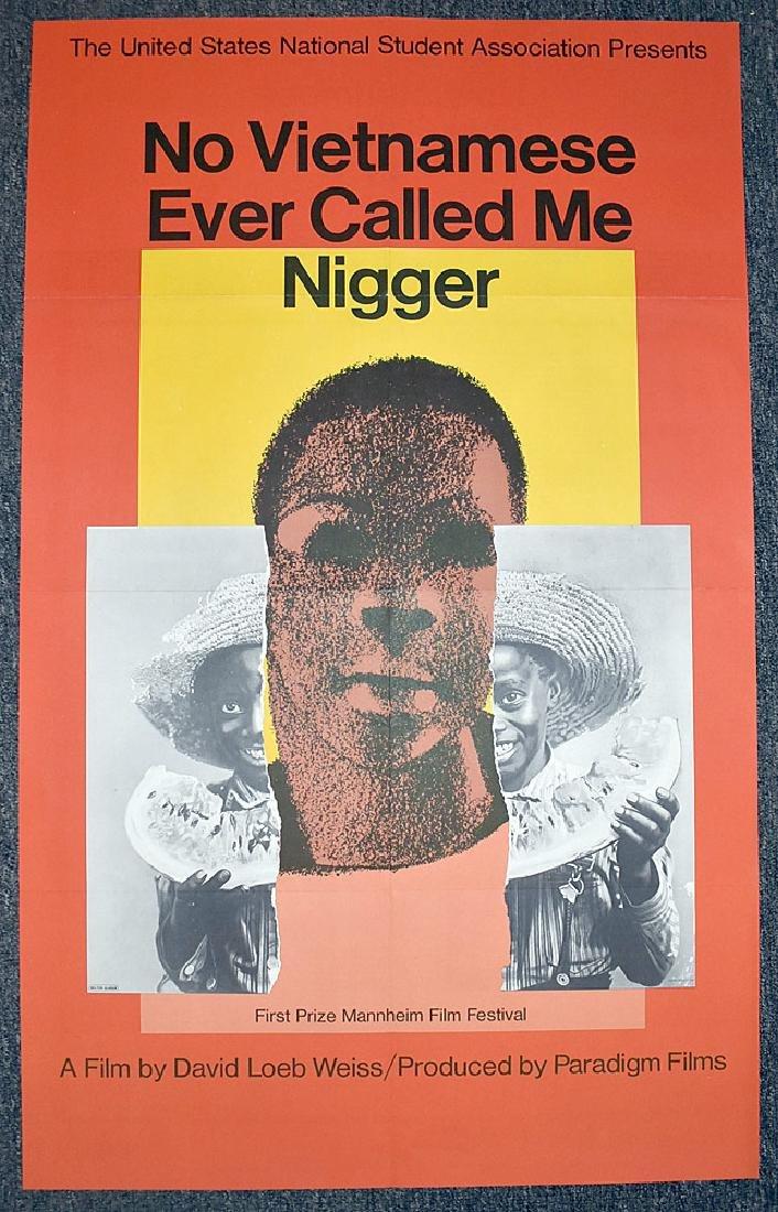 Rare Milton Glaser Film Poster