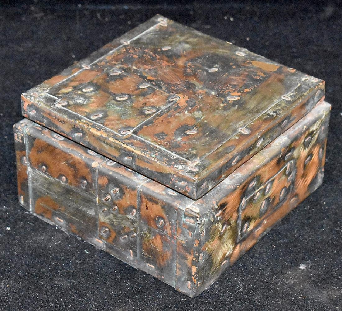 Paul Evans Patchwork Hinged Box