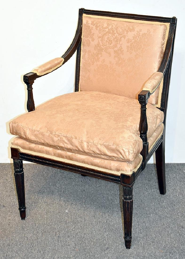 Georgian Mahogany Arm Chair
