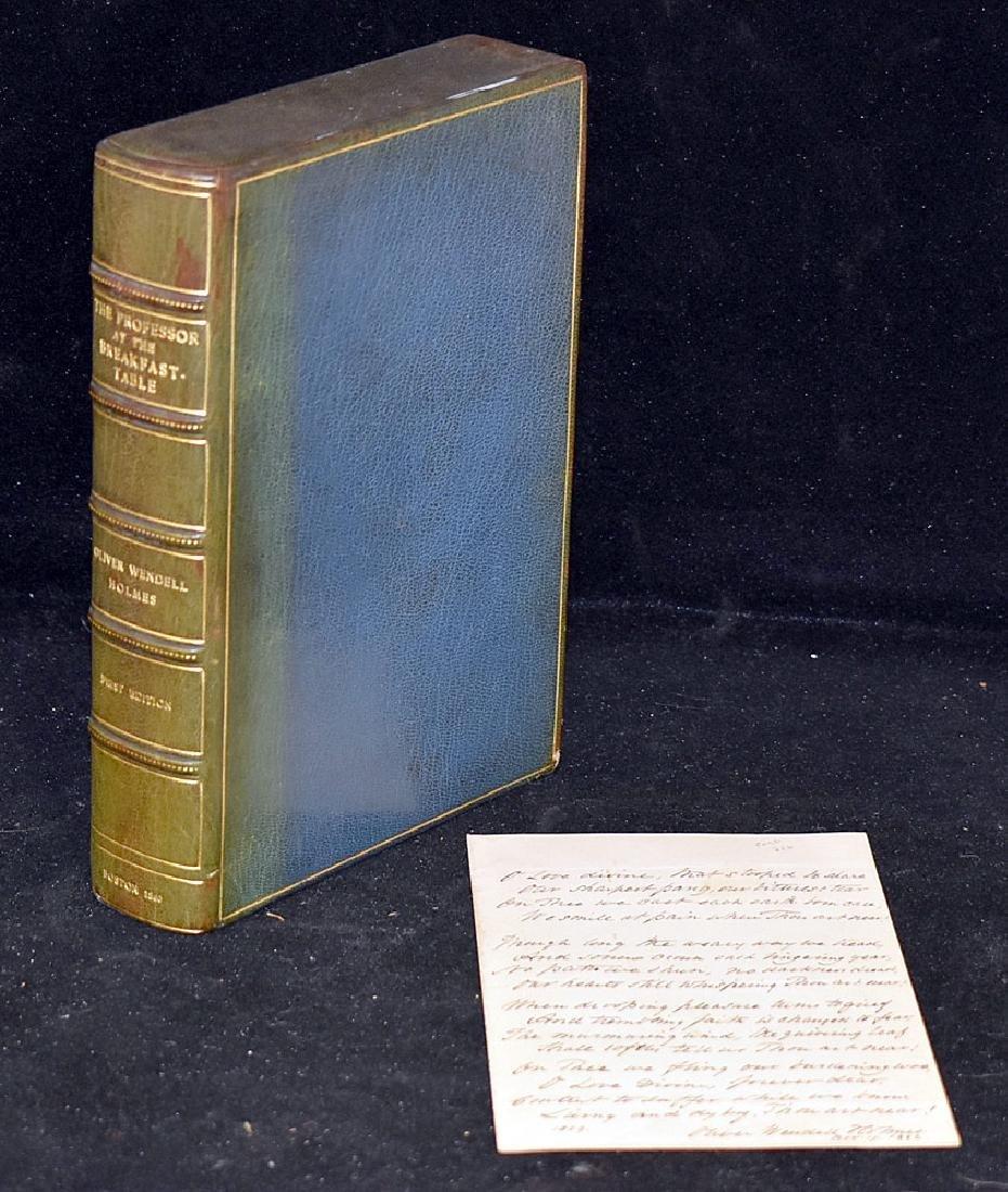 Oliver Wendell Holmes, The Professor