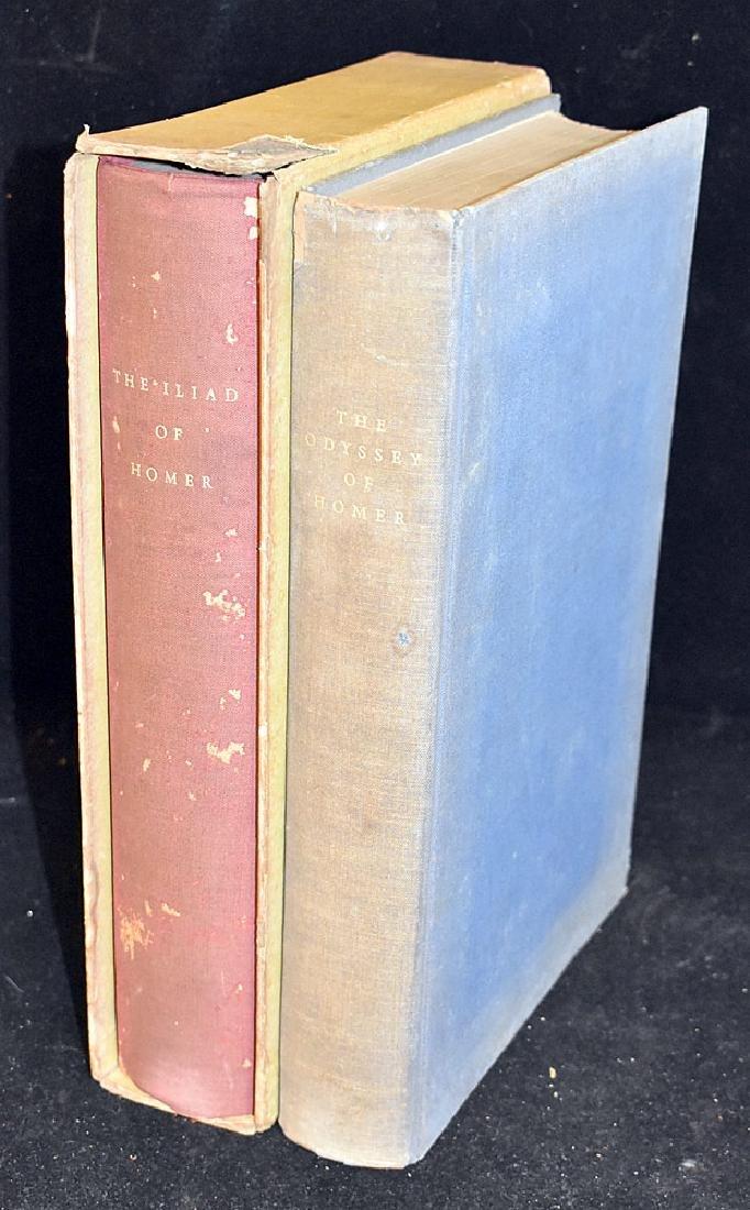 Two Ltd. Ed. Club Vols.: Homer's Odyssey & Illiad