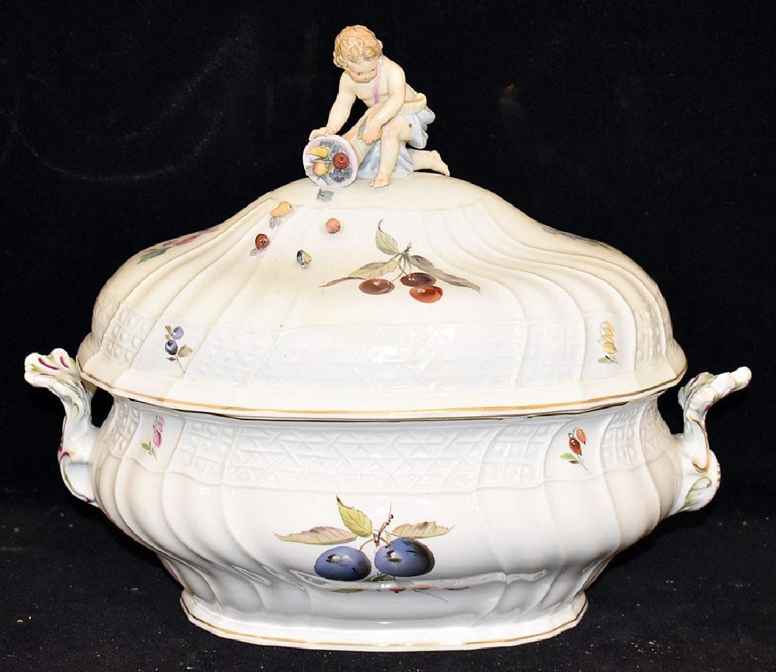 Meissen Porcelain Covered Tureen
