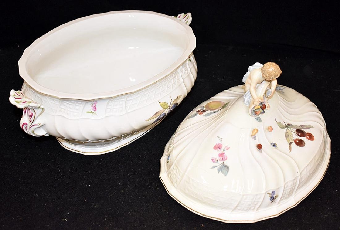 Meissen Porcelain Covered Tureen - 2