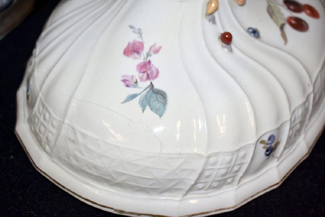 Meissen Porcelain Covered Tureen - 3