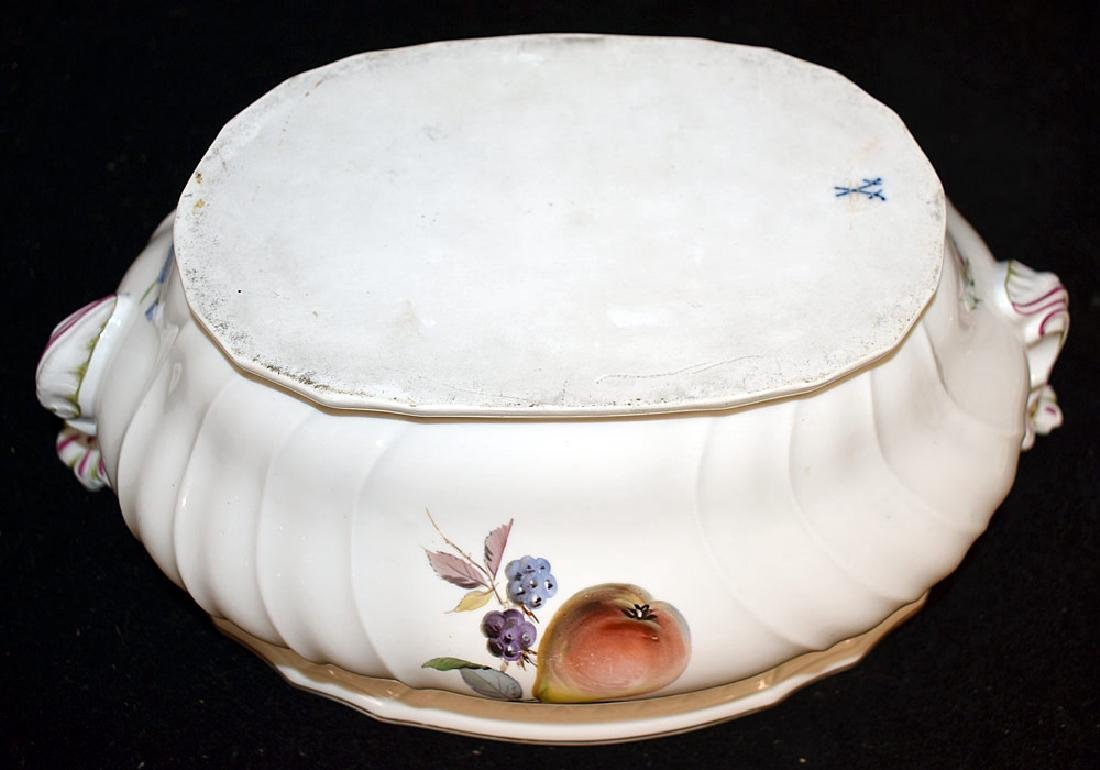 Meissen Porcelain Covered Tureen - 4