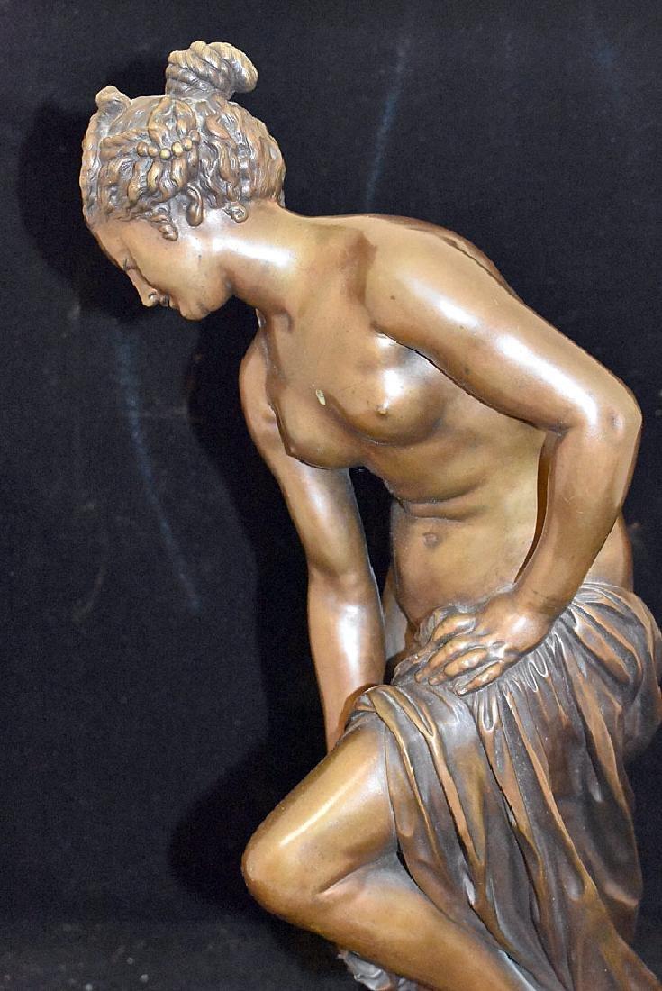 Victor Paillard Bronze Sculpture, Female Nude - 2