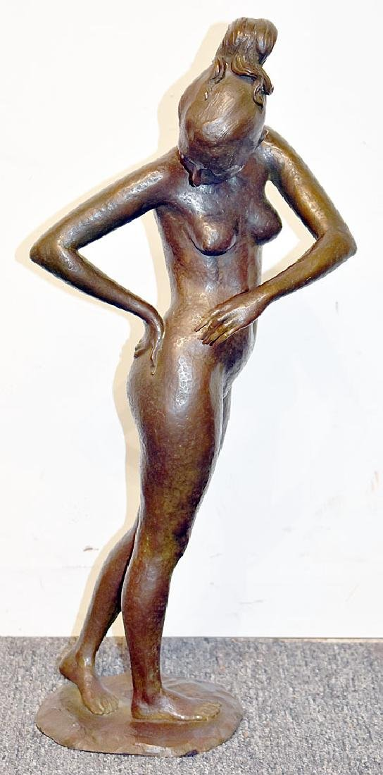 Fuse Marinelli Bronze Sculpture, Female Nude