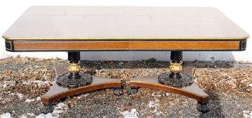 Baker Regency-style Dining Table