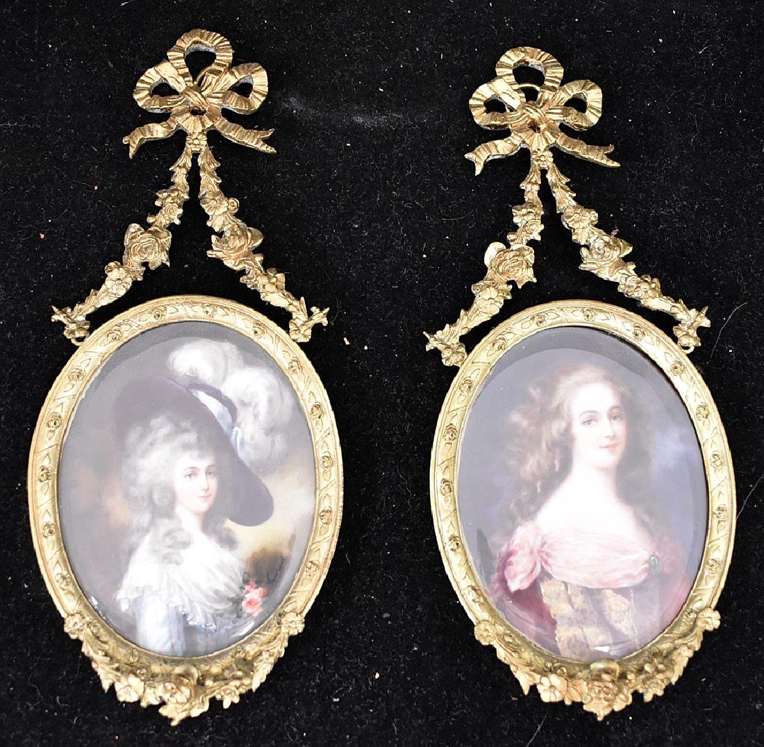 Two 19th Century Miniature Portraits