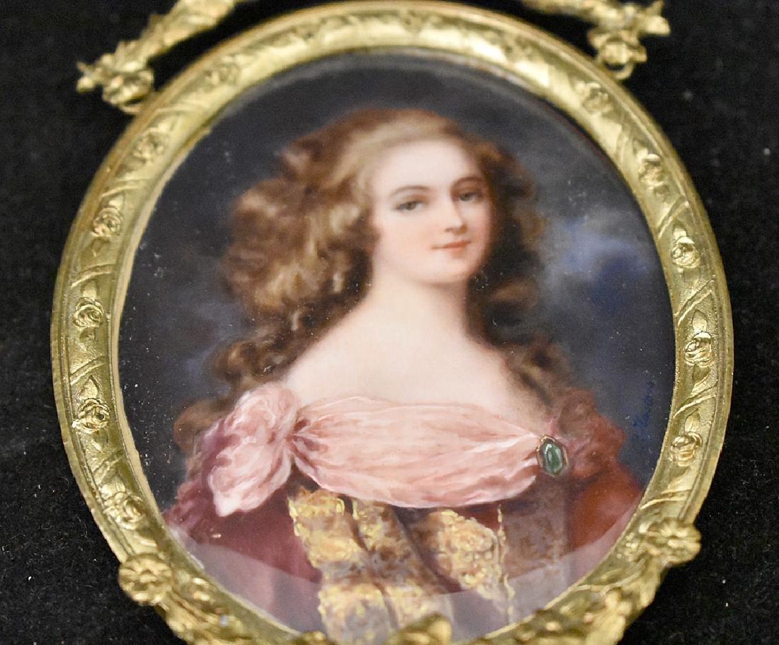 Two 19th Century Miniature Portraits - 2