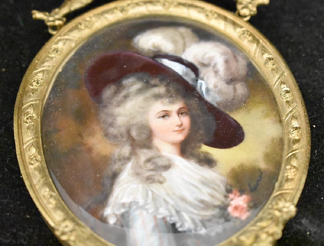 Two 19th Century Miniature Portraits - 3