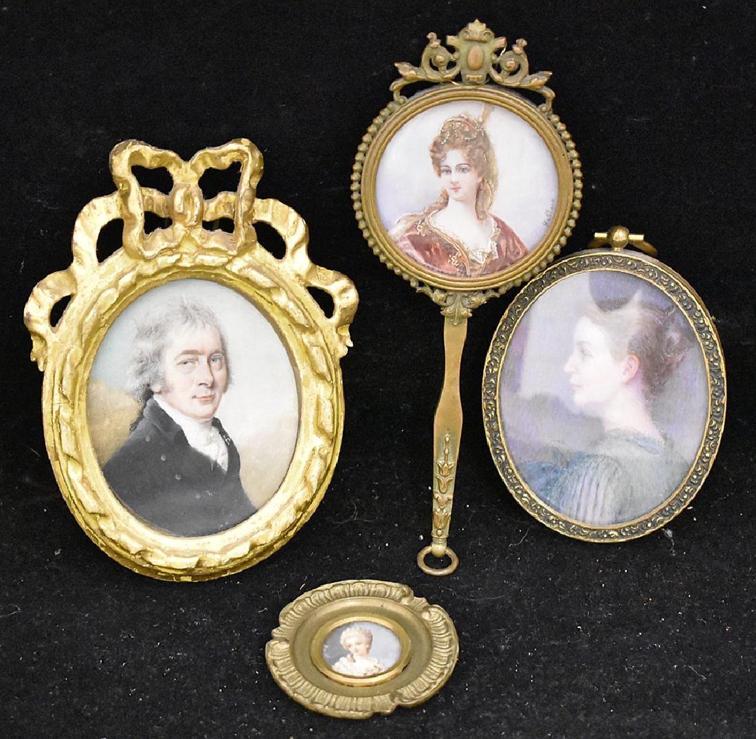 Four Miniature Portraits