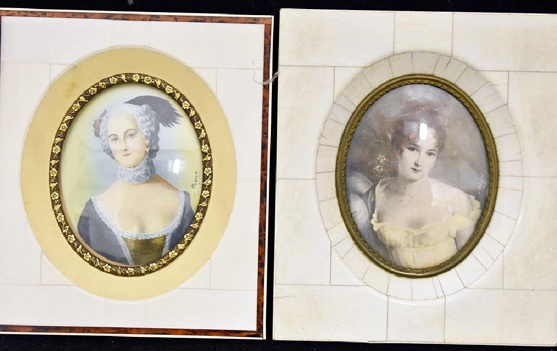 Four Miniature Portraits of Women - 2