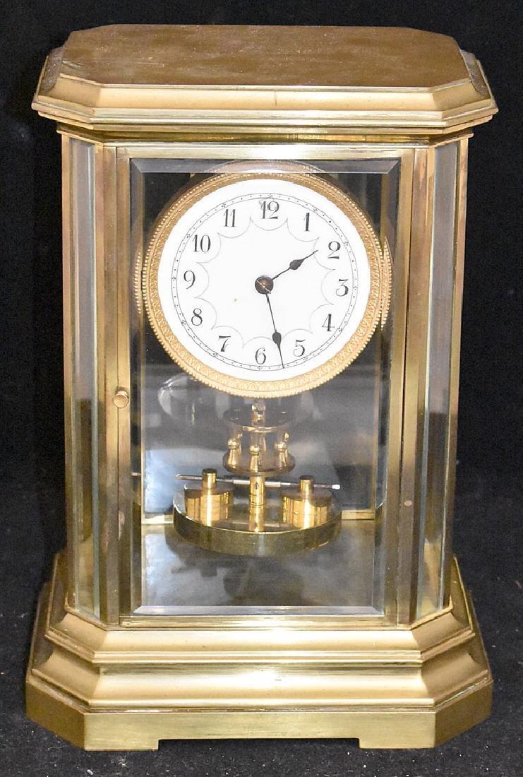 Crystal Regulator Mantel Clock