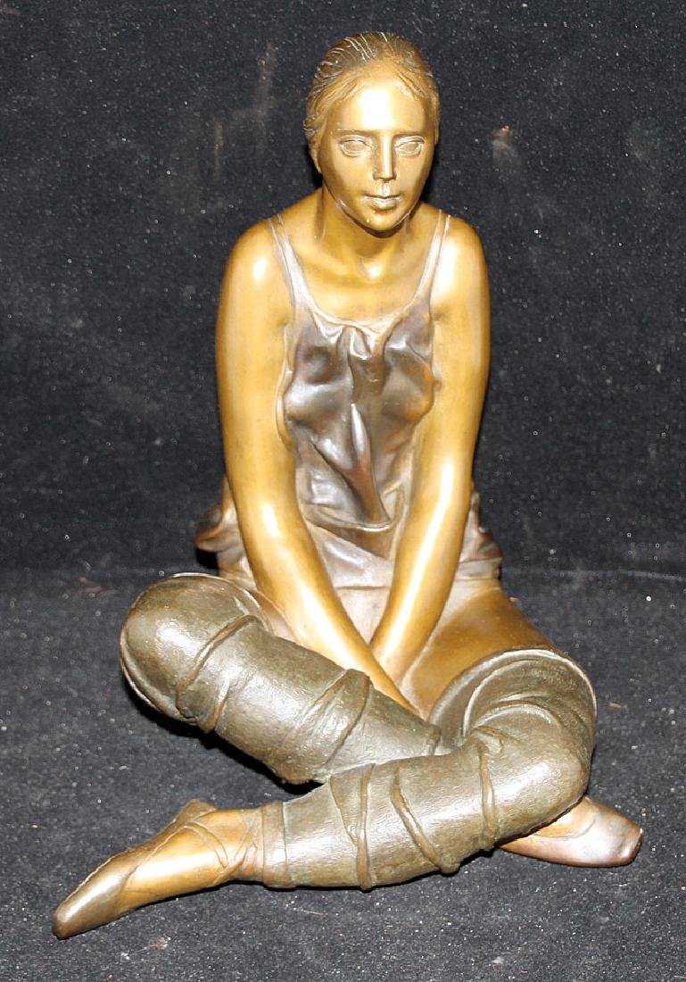 Sergio Benvenuti Bronze Sculpture, Dancer