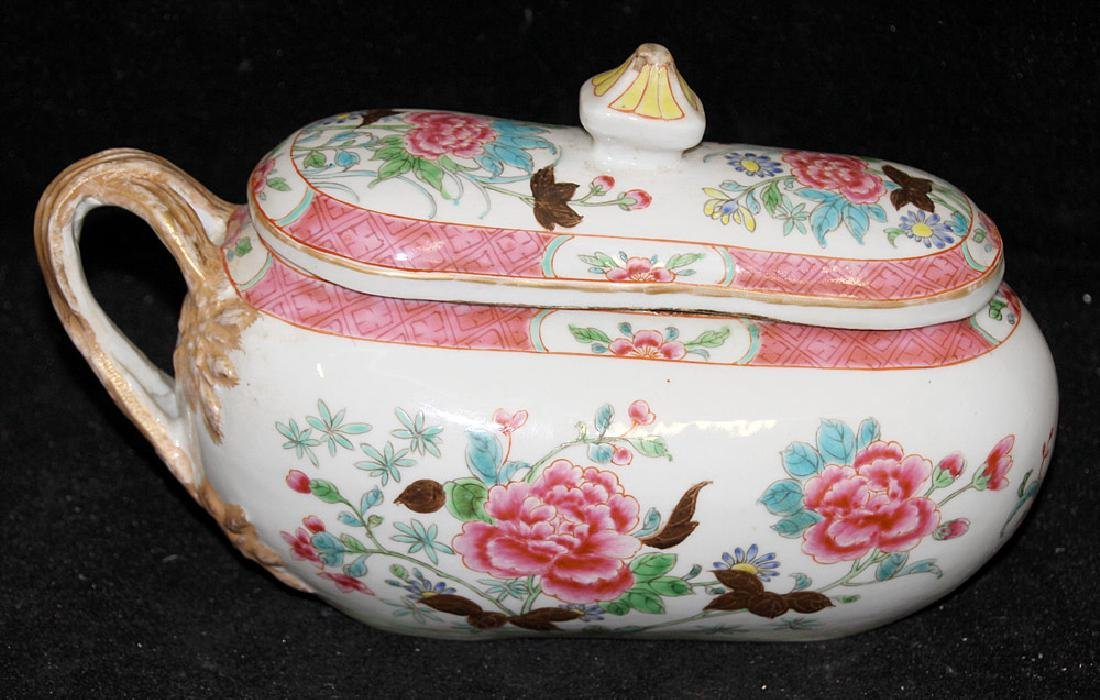 Chinese Famille Rose Porcelain Bourdaloue