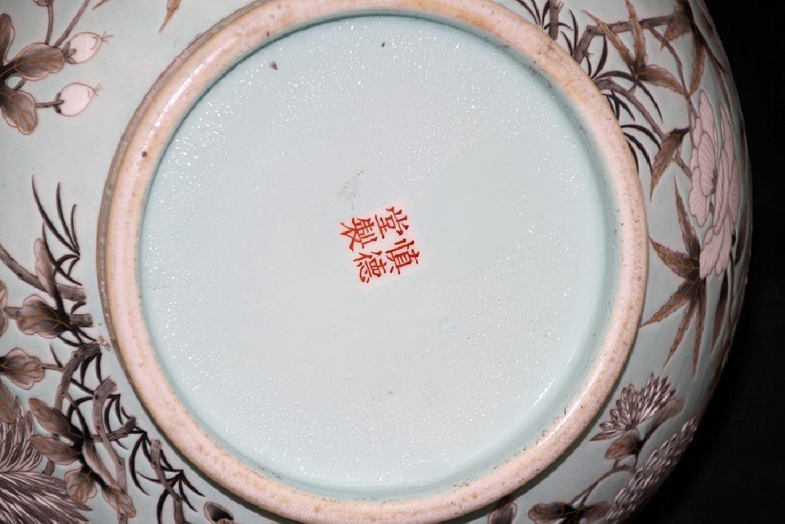 Chinese Porcelain Dragon Vase - 5