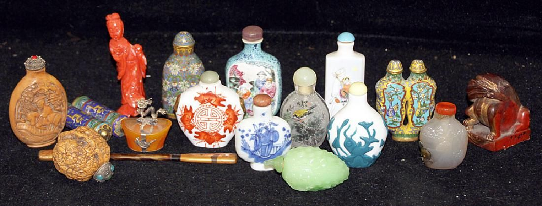 Grouping of Chinese Miniatures