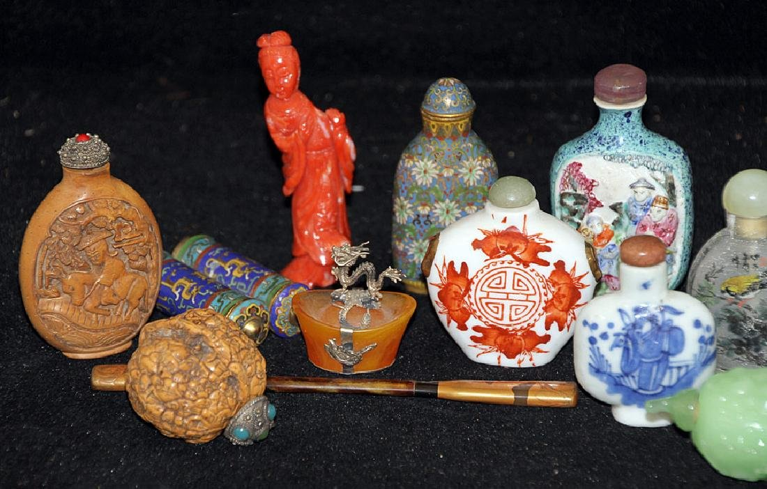 Grouping of Chinese Miniatures - 2