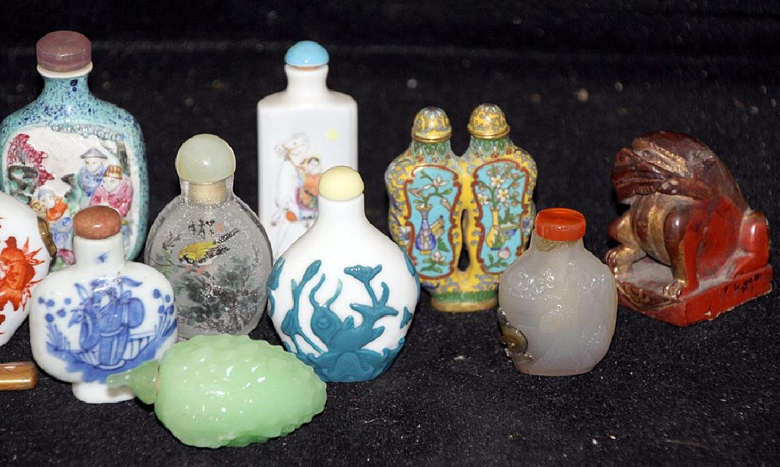Grouping of Chinese Miniatures - 3