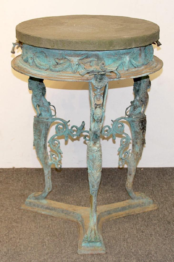 Bronze Garden Table