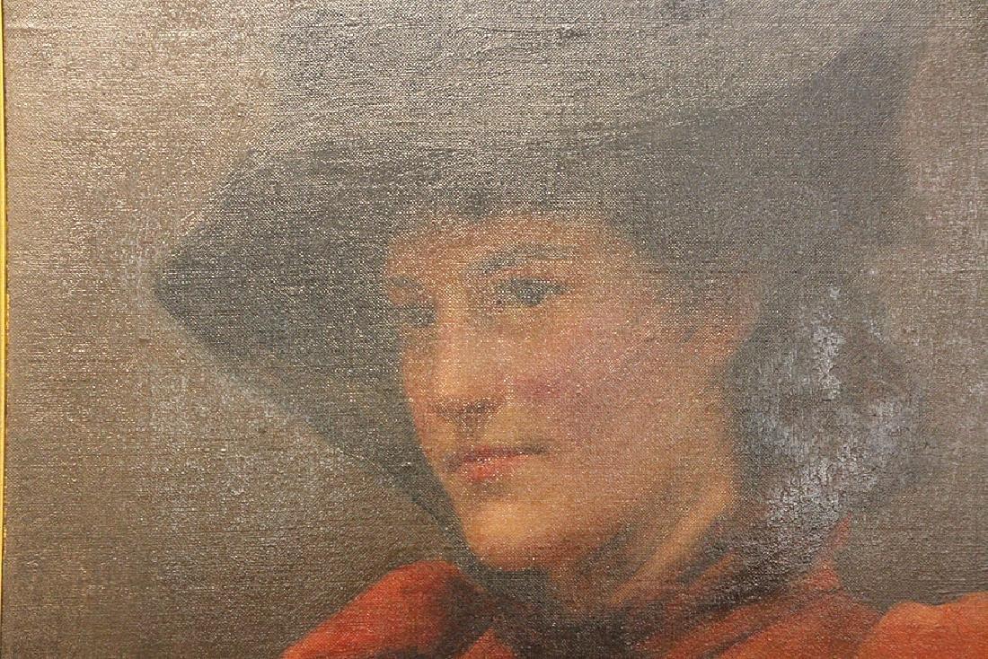 Frank Markham Skipworth Oil on Canvas, Portrait - 2