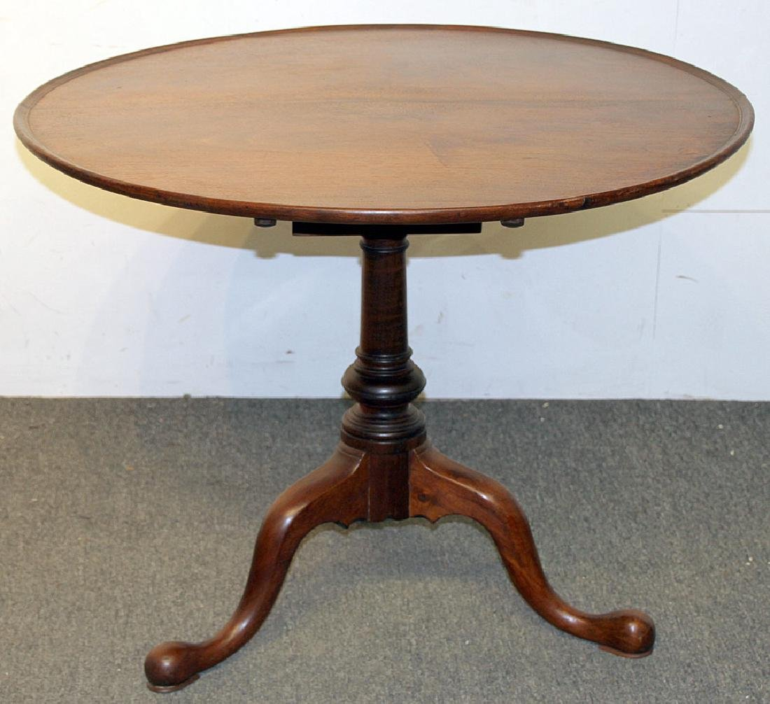 Queen Anne Walnut Tea Table