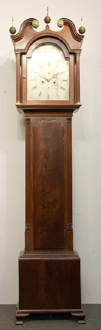 John Scott Scottish Tall Case Clock