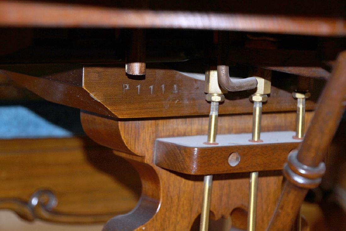 Steinway & Sons French Case Baby-Grand Piano - 10