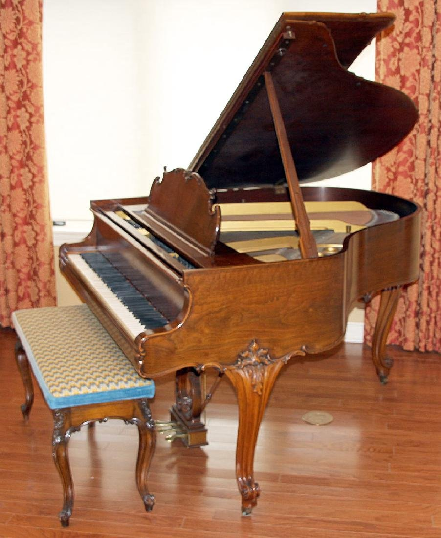 Steinway & Sons French Case Baby-Grand Piano