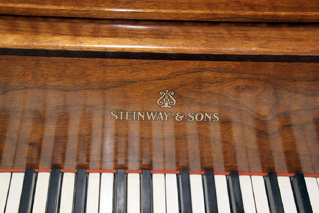 Steinway & Sons French Case Baby-Grand Piano - 2