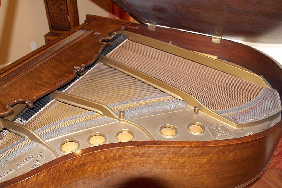 Steinway & Sons French Case Baby-Grand Piano - 5