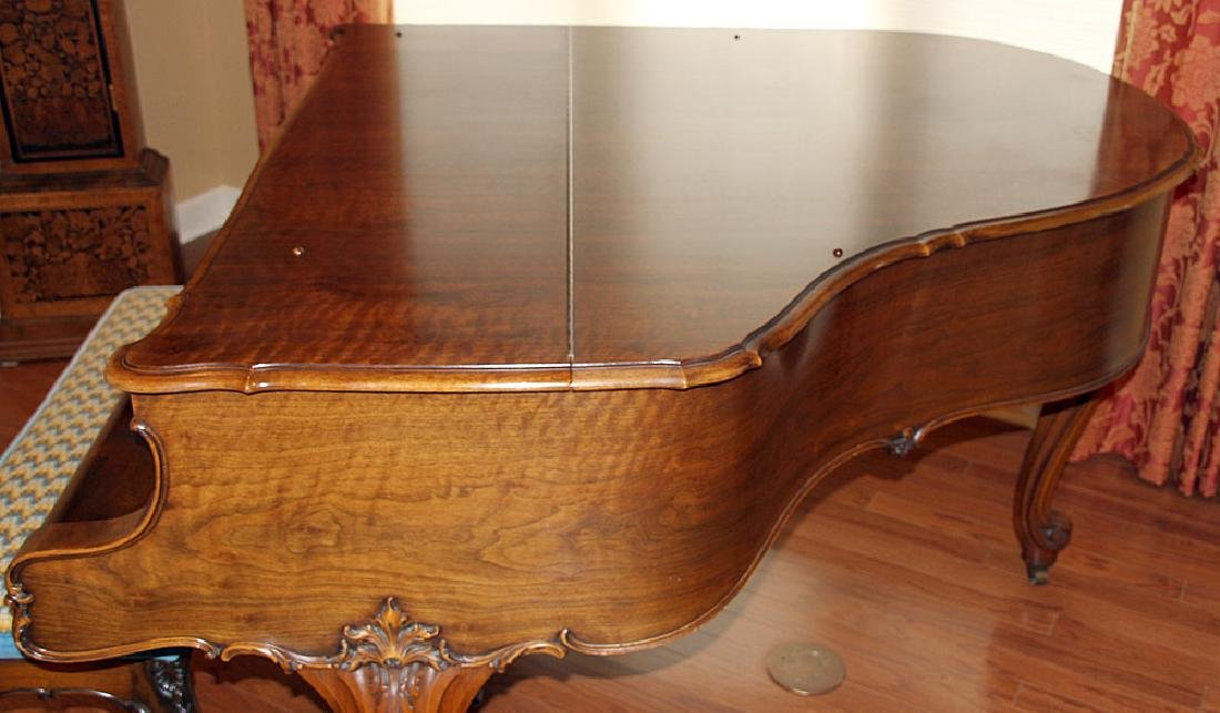 Steinway & Sons French Case Baby-Grand Piano - 6