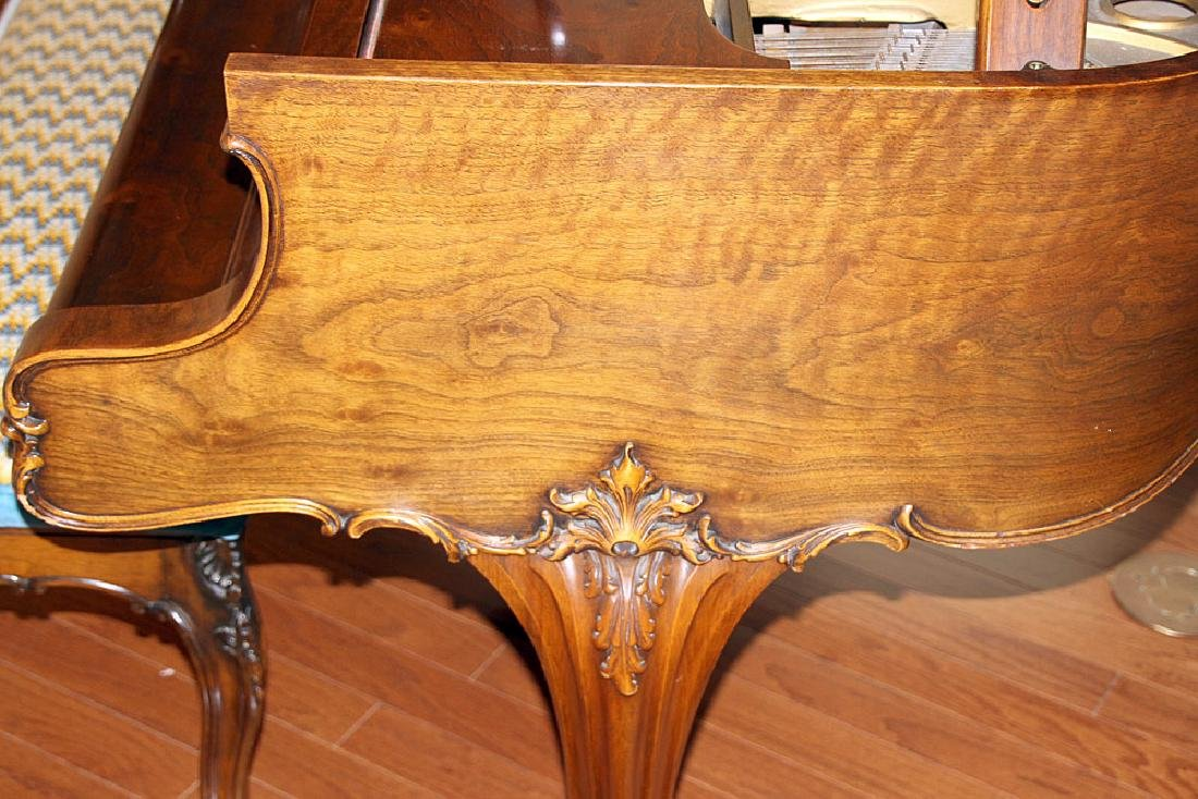 Steinway & Sons French Case Baby-Grand Piano - 7