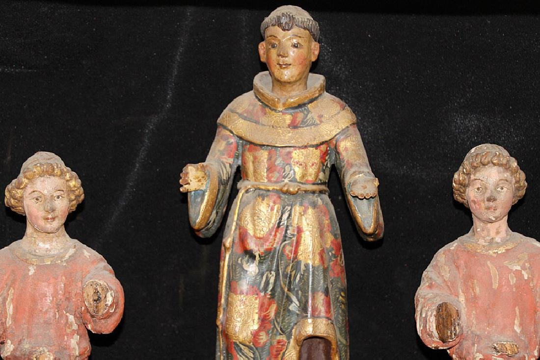 Three Continental Polychrome Figures - 2