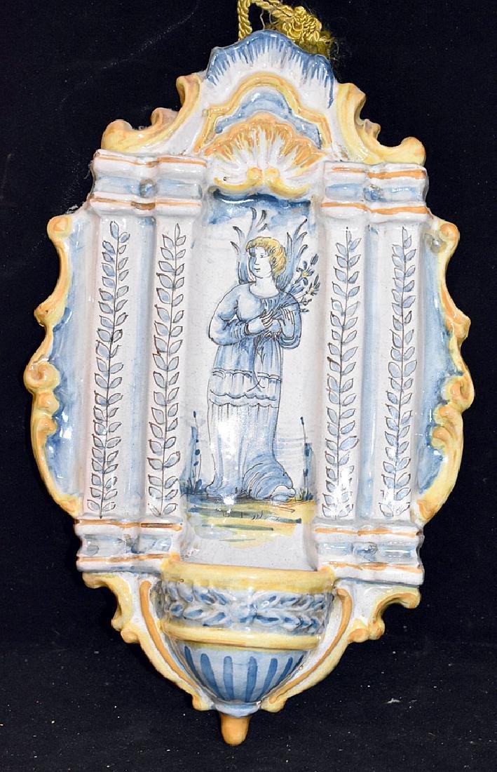 Italian Faience Pottery Lavabo