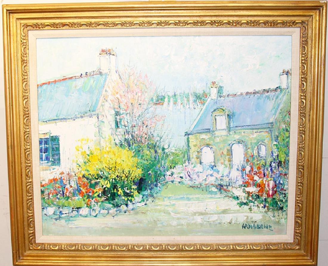 Yolande Ardissone Oil/Canvas, Landscape