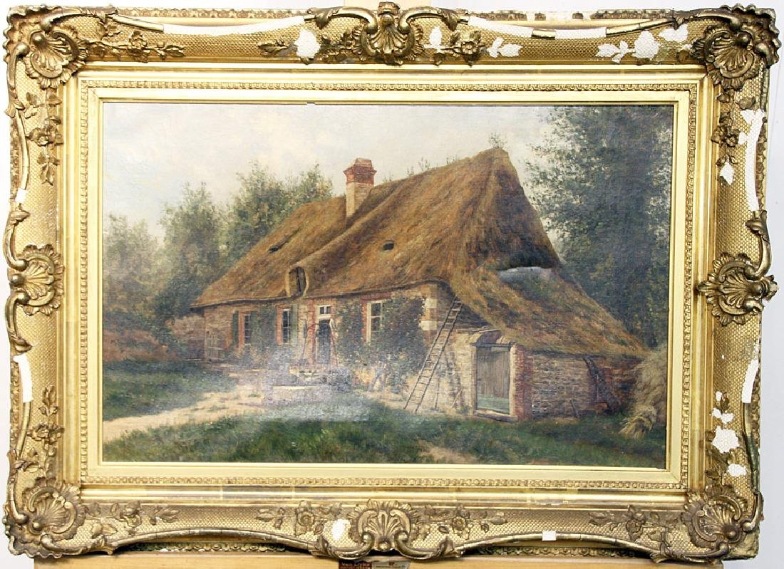 John Clinton Ogilvie Oil on Canvas, Landscape
