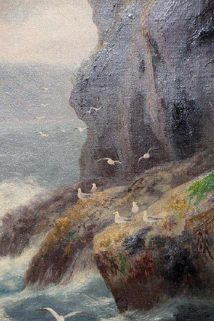 Pair of Daniel Sherrin Oil on Canvas Seascapes - 2