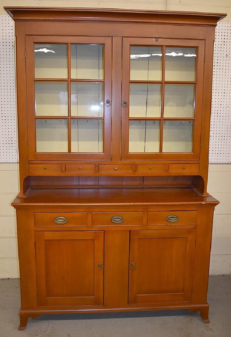 Pennsylvania Pine Dutch Cupboard