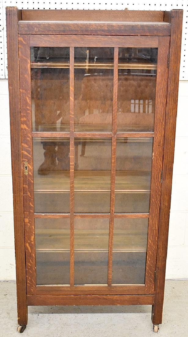 Stickley Bros. Arts & Crafts Oak Bookcase