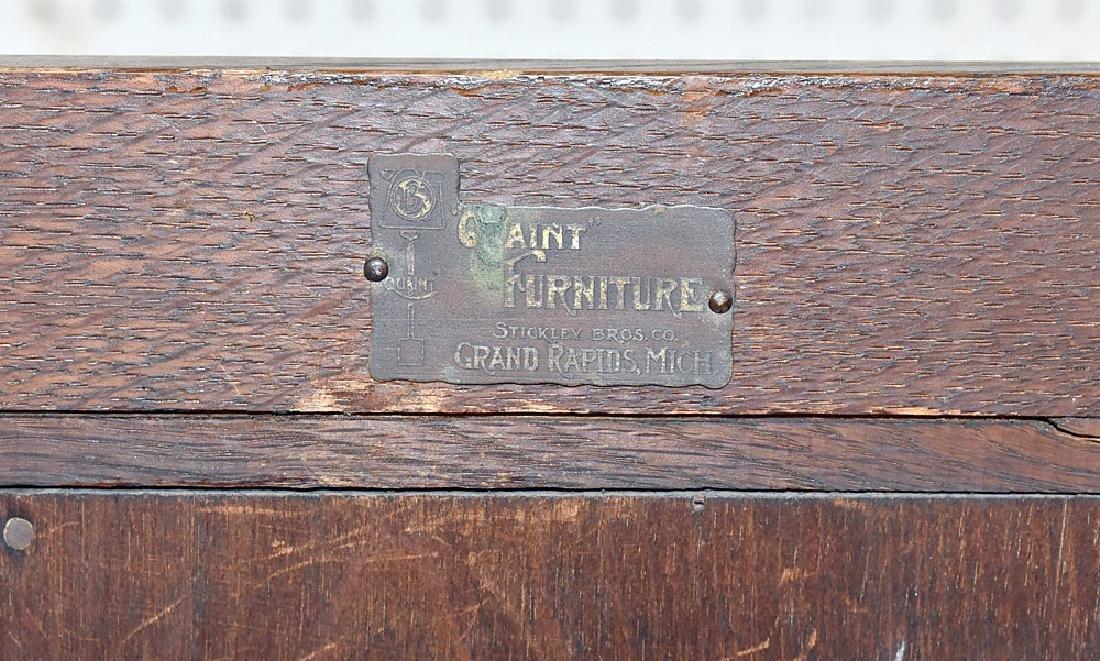 Stickley Bros. Arts & Crafts Oak Bookcase - 3