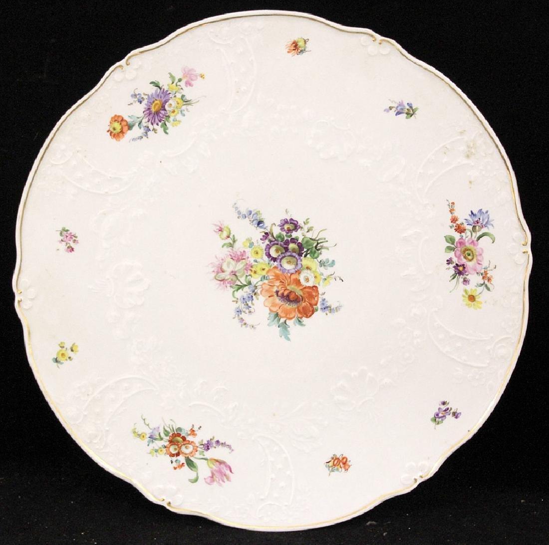 Meissen Porcelain Platter