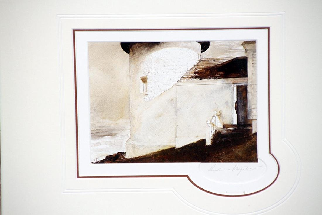 Signed A. Wyeth Print, By the Light of the Moon - 2