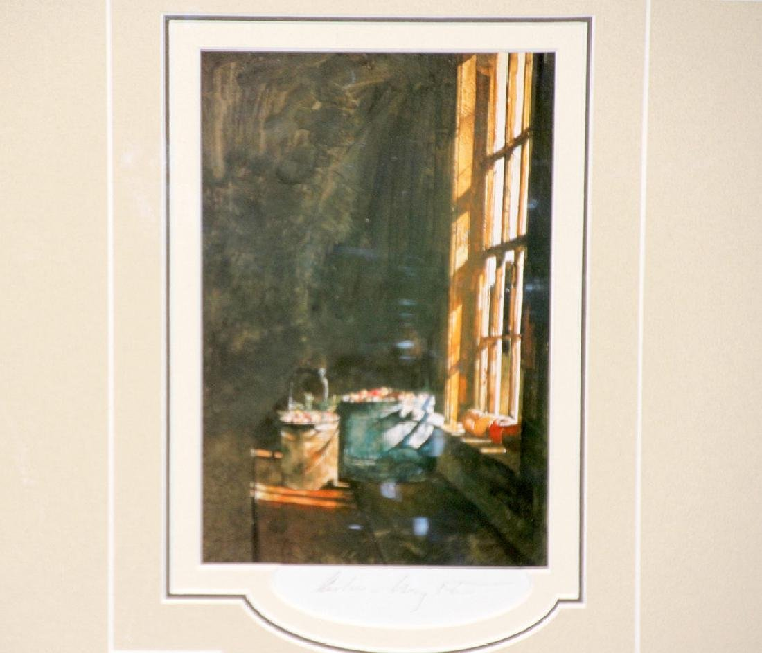 Pencil-Signed Andrew Wyeth Print, Cranberries - 2