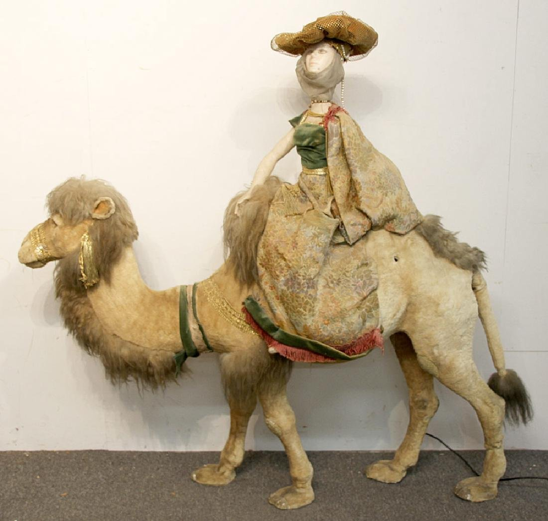 Large Automaton, Camel with Rider