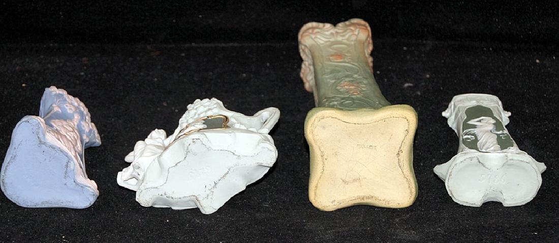 Four Art Nouveau Pottery Vases - 3